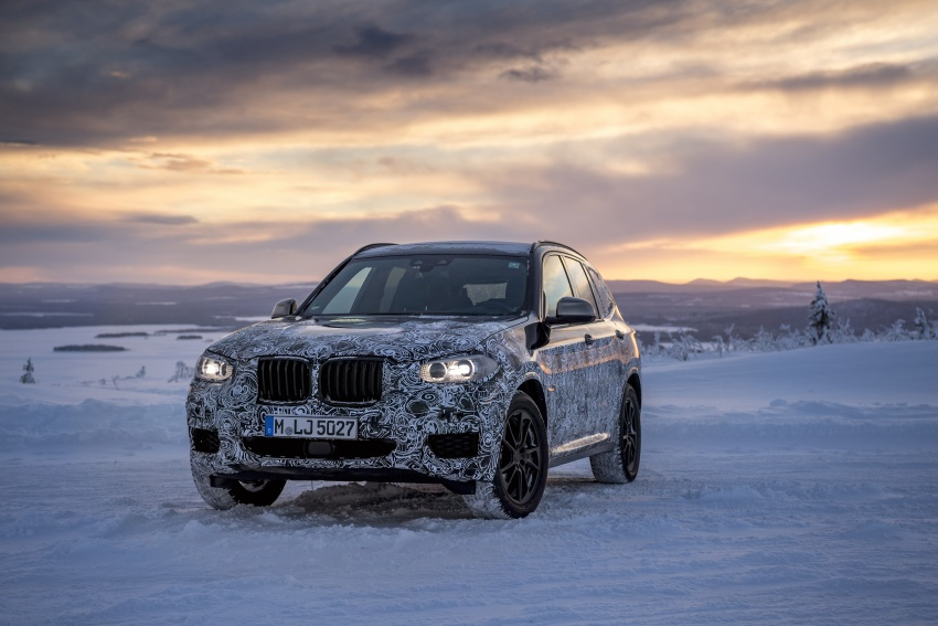 "G01 BMW X3 shown in official ""spy photos"" – M40i? Image #624516"