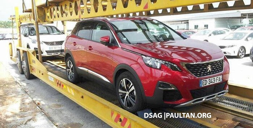 SPIED: Peugeot 3008 1.6L THP on a trailer in Malaysia Image #631508