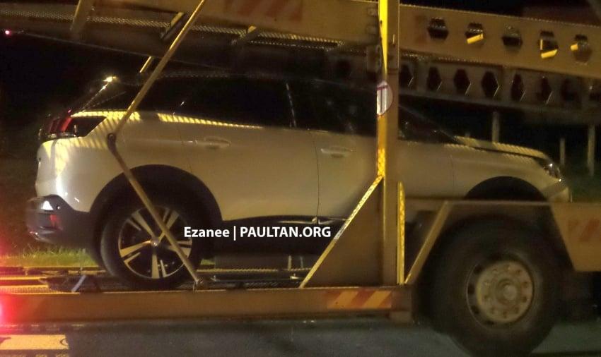 SPYSHOT: Peugeot 3008 1.6L THP atas treler di M'sia Image #631603