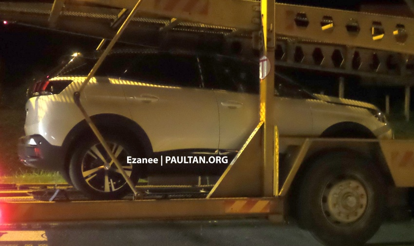 SPIED: Peugeot 3008 1.6L THP on a trailer in Malaysia Image #631510
