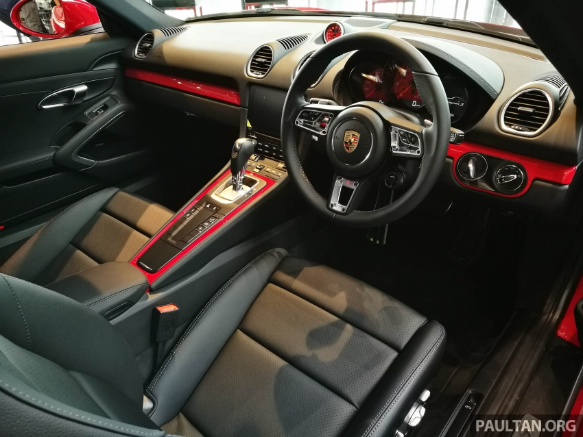 Porsche 718 Cayman, Cayman S make Malaysian debut at new Porsche Centre Penang, from RM530k Image #630740