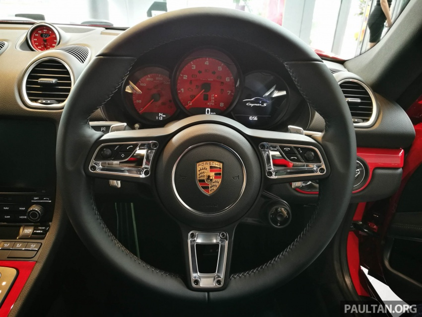 Porsche 718 Cayman, Cayman S make Malaysian debut at new Porsche Centre Penang, from RM530k Image #630743
