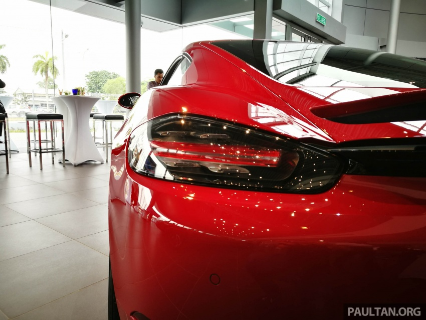 Porsche 718 Cayman, Cayman S make Malaysian debut at new Porsche Centre Penang, from RM530k Image #630755