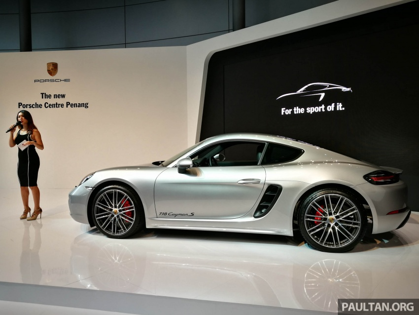 Porsche 718 Cayman Dan Cayman S Kini Di Malaysia Image 630674