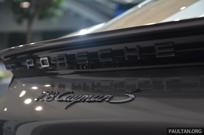 Porsche 718 Cayman, Cayman S make Malaysian debut at new Porsche Centre Penang, from RM530k Image #630767