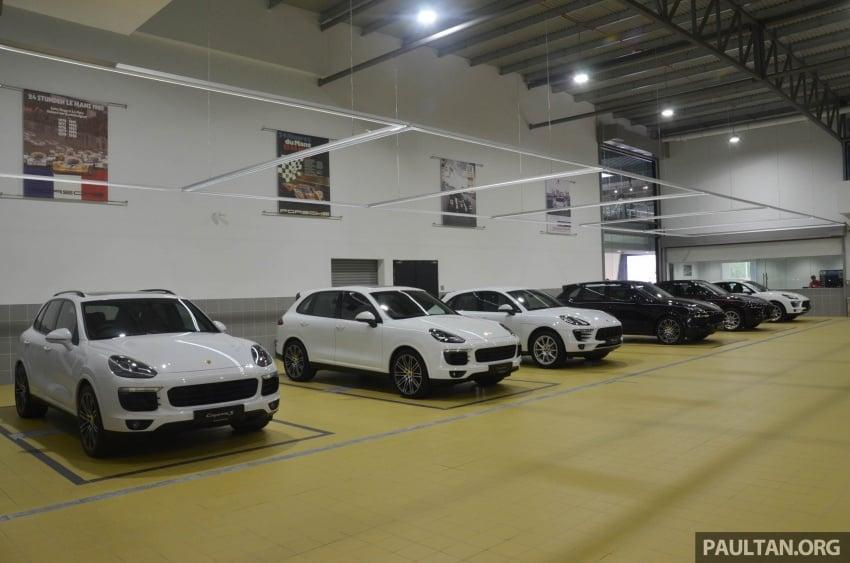 Sime Darby Auto Performance opens Porsche Centre Penang – includes nine service bays, parts warehouse Image #630796