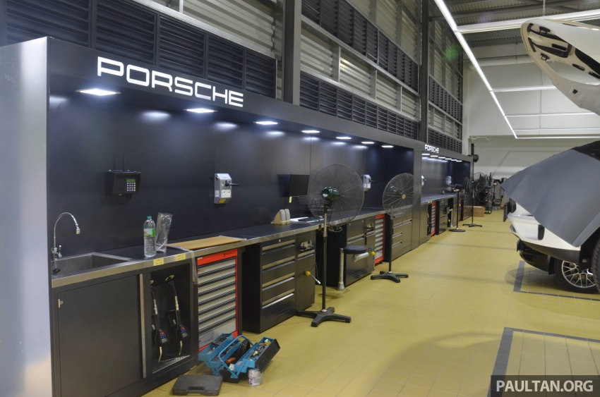 Sime Darby Auto Performance opens Porsche Centre Penang – includes nine service bays, parts warehouse Image #630797