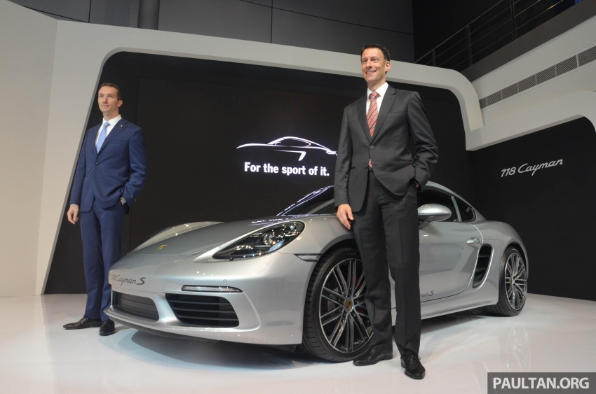 Porsche 718 Cayman, Cayman S make Malaysian debut at new Porsche Centre Penang, from RM530k Image #630758