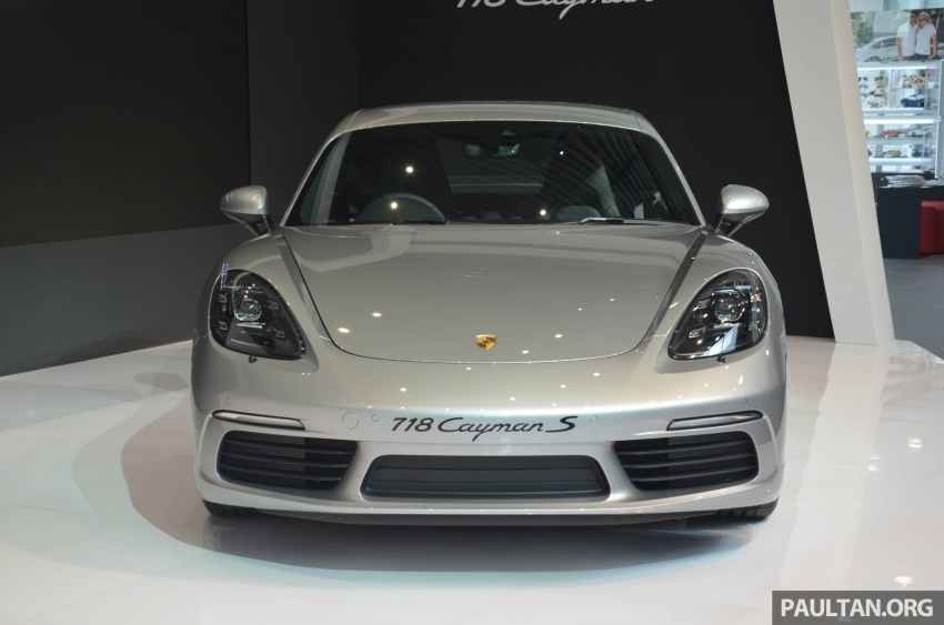 Porsche 718 Cayman, Cayman S make Malaysian debut at new Porsche Centre Penang, from RM530k Image #630759