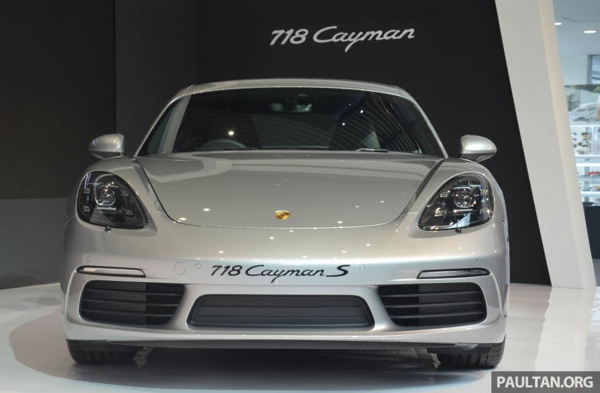 Porsche 718 Cayman, Cayman S make Malaysian debut at new Porsche Centre Penang, from RM530k Image #630760