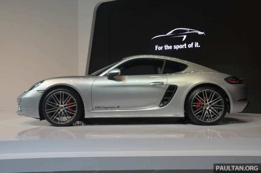 Porsche 718 Cayman, Cayman S make Malaysian debut at new Porsche Centre Penang, from RM530k Image #630761