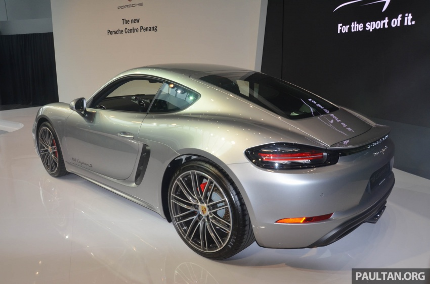 Porsche 718 Cayman, Cayman S make Malaysian debut at new Porsche Centre Penang, from RM530k Image #630762