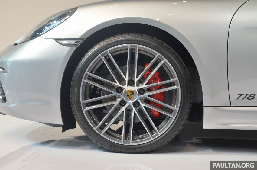 Porsche 718 Cayman, Cayman S make Malaysian debut at new Porsche Centre Penang, from RM530k Image #630764