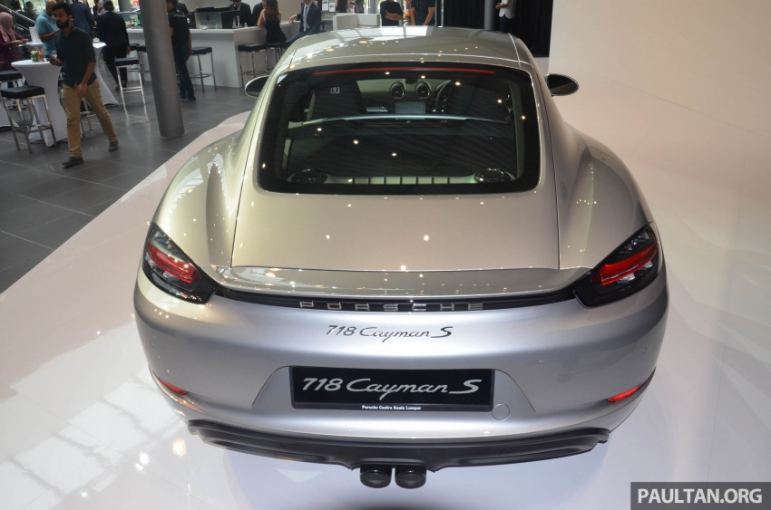 Porsche 718 Cayman, Cayman S make Malaysian debut at new Porsche Centre Penang, from RM530k Image #630765
