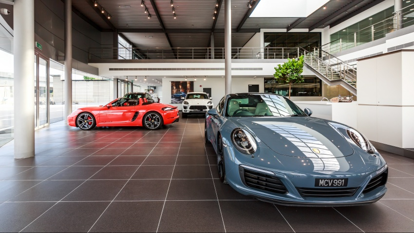 Sime Darby Auto Performance opens Porsche Centre Penang – includes nine service bays, parts warehouse Image #630790