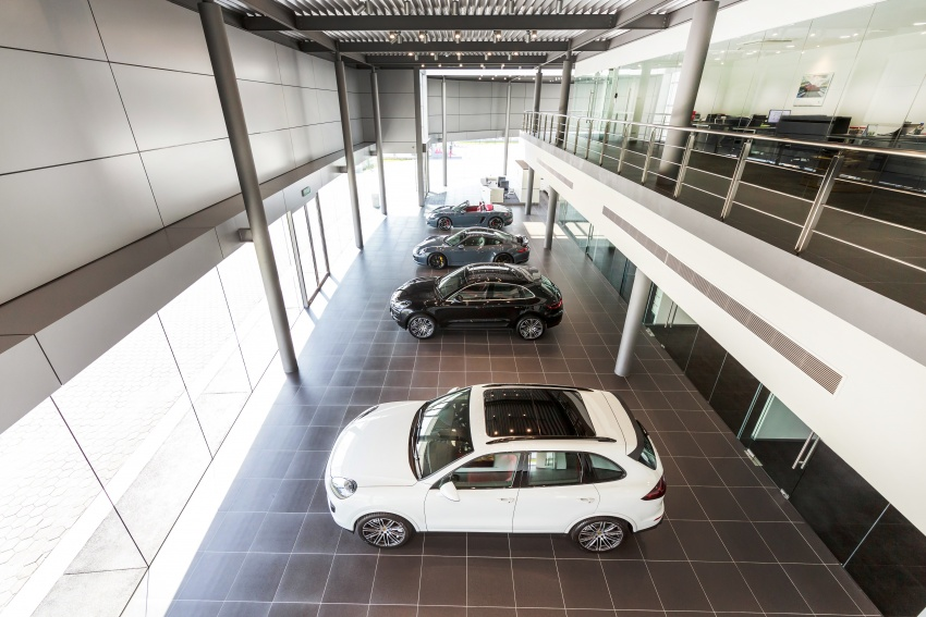 Sime Darby Auto Performance opens Porsche Centre Penang – includes nine service bays, parts warehouse Image #630805