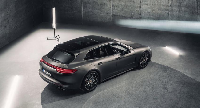 Porsche Panamera Sport Turismo – wagon berprestasi tinggi didedahkan sebelum muncul di Geneva 2017 Image #623346