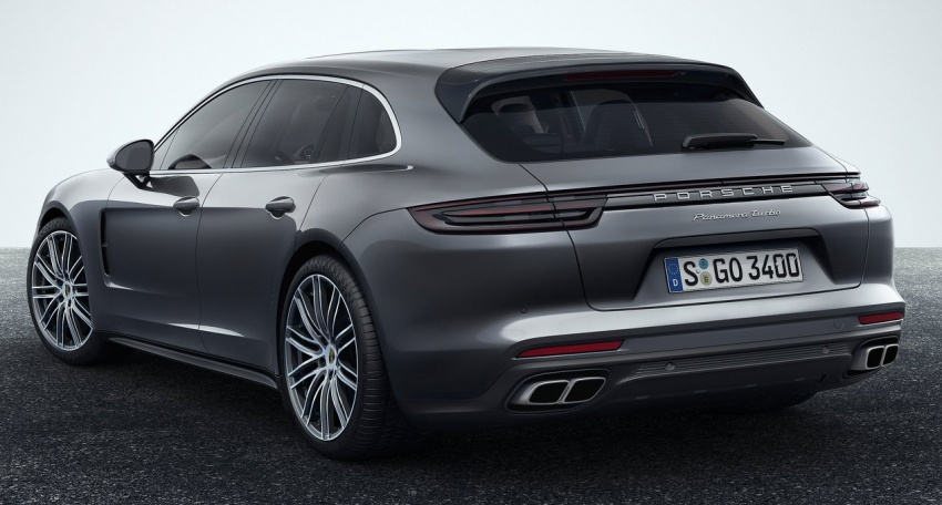 Porsche Panamera Sport Turismo – wagon berprestasi tinggi didedahkan sebelum muncul di Geneva 2017 Image #623345