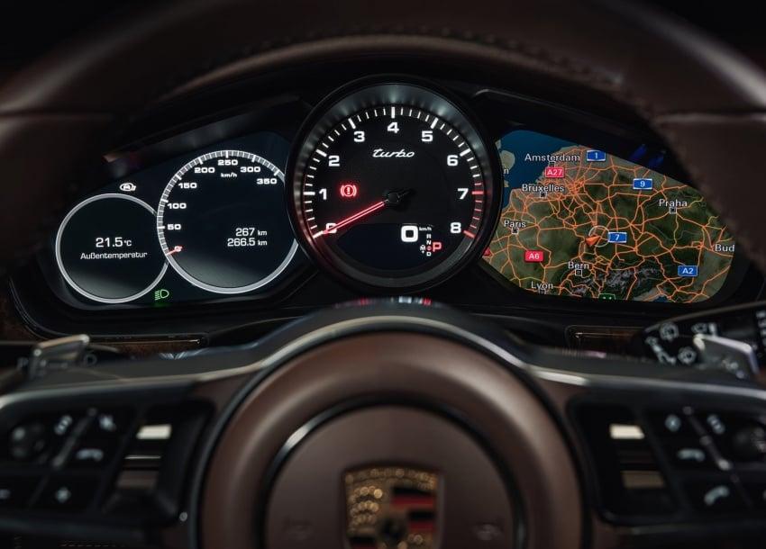 Porsche Panamera Sport Turismo – wagon berprestasi tinggi didedahkan sebelum muncul di Geneva 2017 Image #623340