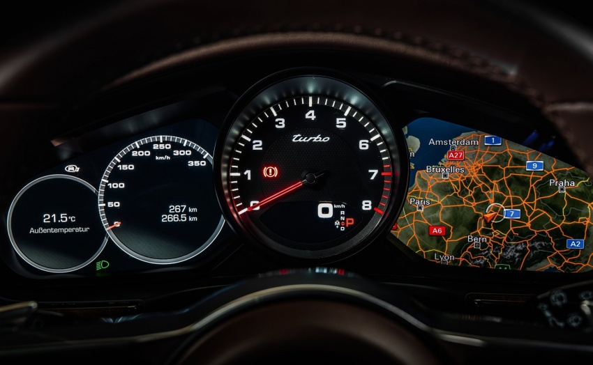 Porsche Panamera Sport Turismo – wagon berprestasi tinggi didedahkan sebelum muncul di Geneva 2017 Image #623339