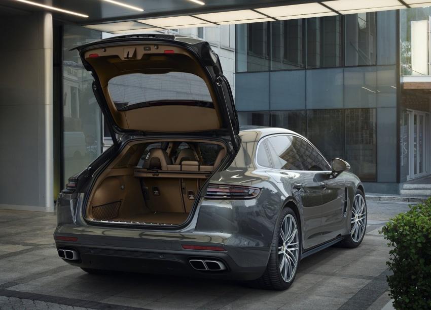 Porsche Panamera Sport Turismo – wagon berprestasi tinggi didedahkan sebelum muncul di Geneva 2017 Image #623327
