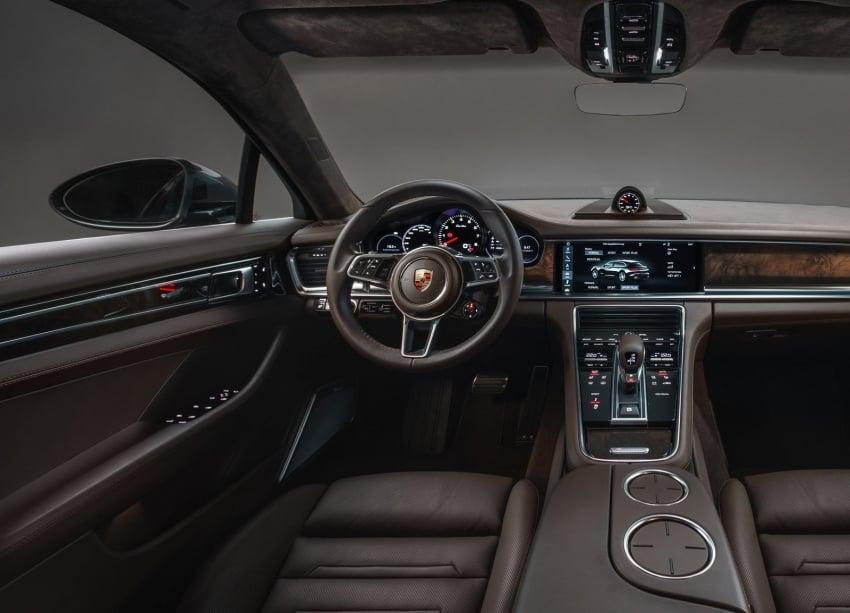 Porsche Panamera Sport Turismo – wagon berprestasi tinggi didedahkan sebelum muncul di Geneva 2017 Image #623323