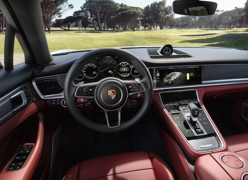Porsche Panamera Sport Turismo – wagon berprestasi tinggi didedahkan sebelum muncul di Geneva 2017 Image #623322