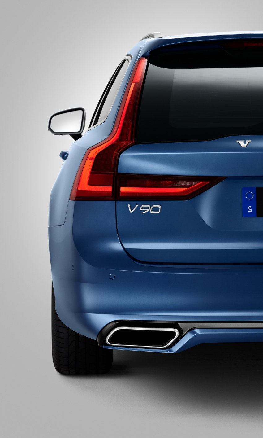 Volvo S90, V90 launched in M'sia: T5 and T6 R-Design, semi-autonomous driving as standard, from RM389k Image #633738