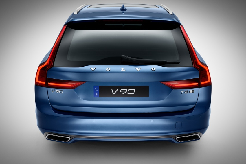 Volvo S90, V90 launched in M'sia: T5 and T6 R-Design, semi-autonomous driving as standard, from RM389k Image #633739