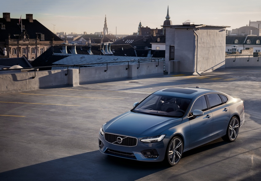 Volvo S90, V90 launched in M'sia: T5 and T6 R-Design, semi-autonomous driving as standard, from RM389k Image #633764