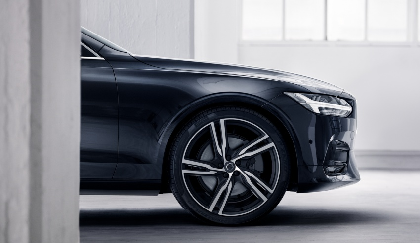 Volvo S90, V90 launched in M'sia: T5 and T6 R-Design, semi-autonomous driving as standard, from RM389k Image #633766