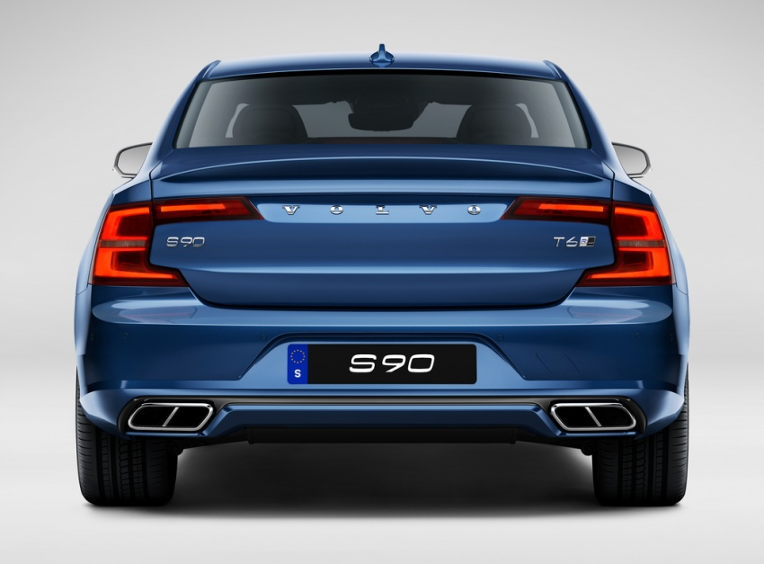 Volvo S90, V90 launched in M'sia: T5 and T6 R-Design, semi-autonomous driving as standard, from RM389k Image #633761