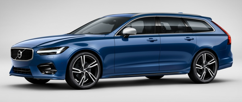 Volvo S90, V90 launched in M'sia: T5 and T6 R-Design, semi-autonomous driving as standard, from RM389k Image #633777