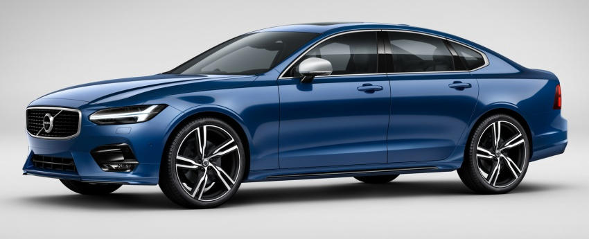 Volvo S90, V90 launched in M'sia: T5 and T6 R-Design, semi-autonomous driving as standard, from RM389k Image #633762