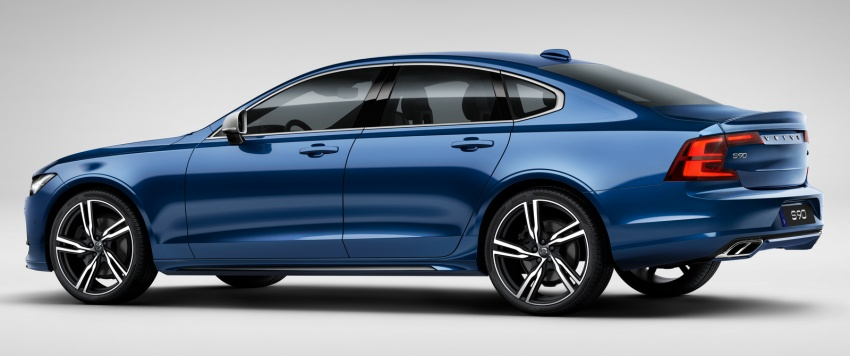 Volvo S90, V90 launched in M'sia: T5 and T6 R-Design, semi-autonomous driving as standard, from RM389k Image #633763