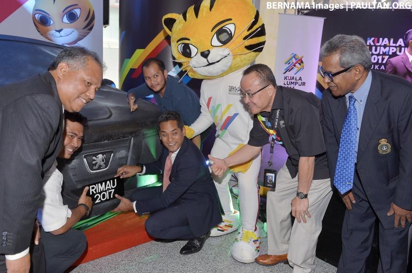 Bidding for SEA Games 'RIMAU' plates opens April 1 Image #637841