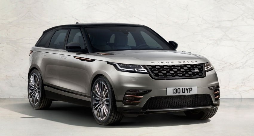 New Range Rover Velar sits between Evoque, RR Sport Image #622604