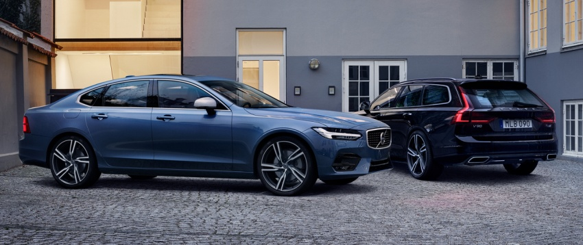 Volvo S90, V90 launched in M'sia: T5 and T6 R-Design, semi-autonomous driving as standard, from RM389k Image #633753