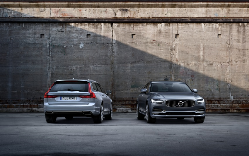 Volvo S90, V90 launched in M'sia: T5 and T6 R-Design, semi-autonomous driving as standard, from RM389k Image #633754