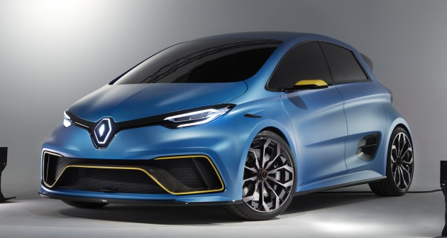 renault zoe e sport concept zoe lebih liar dengan kuasa 462 hp 640 nm 0 100 km j hanya 3 2 saat. Black Bedroom Furniture Sets. Home Design Ideas