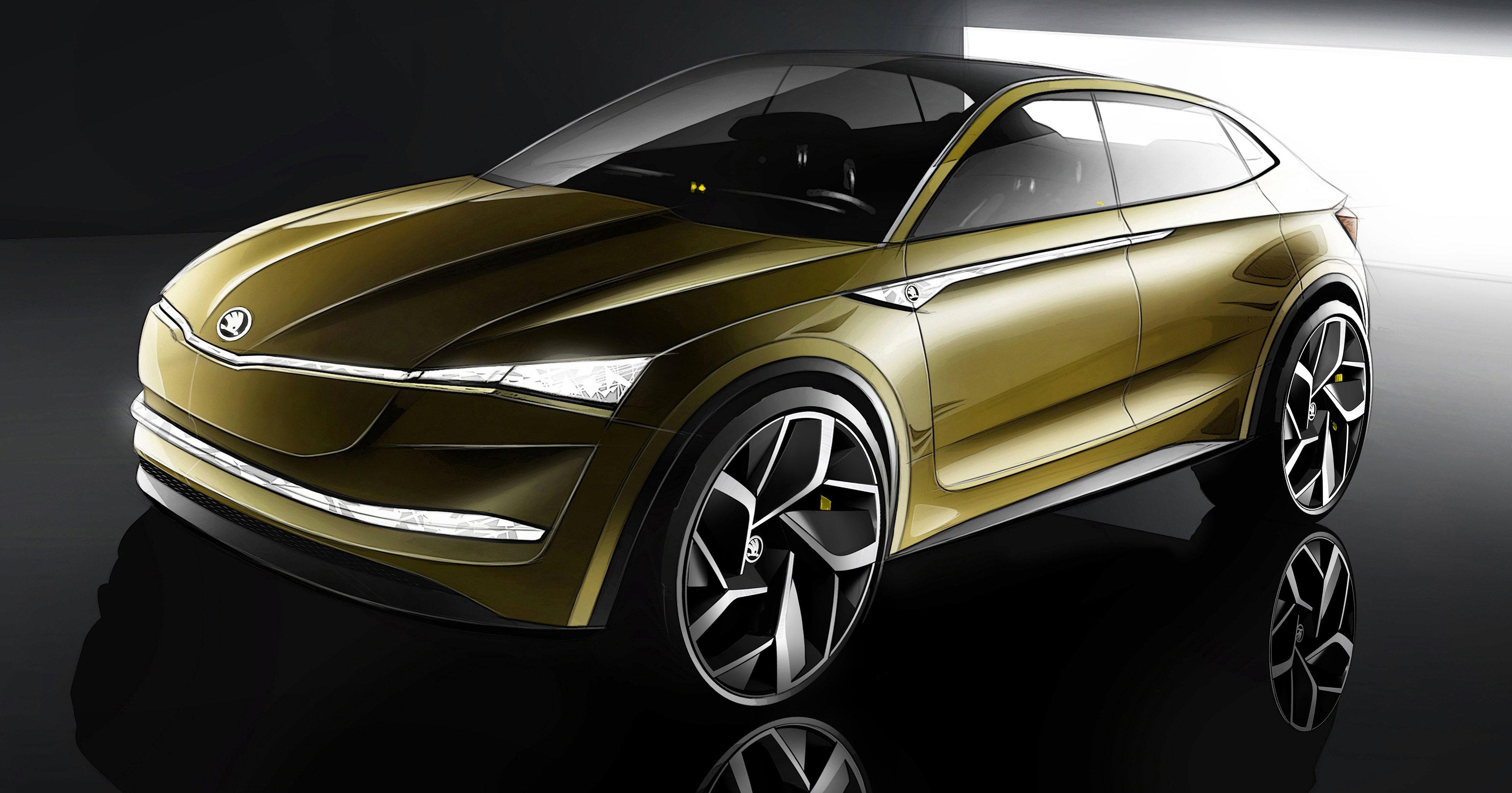 Skoda >> Skoda Vision E concept set to debut at Shanghai show Paul Tan - Image 637280