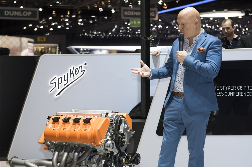 Spyker to use Koenigsegg engines, will last 200 years? Image #632447