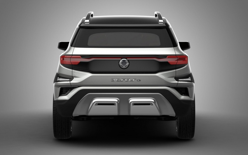 SsangYong XAVL Concept – off-road capable 7-seater Image #629067
