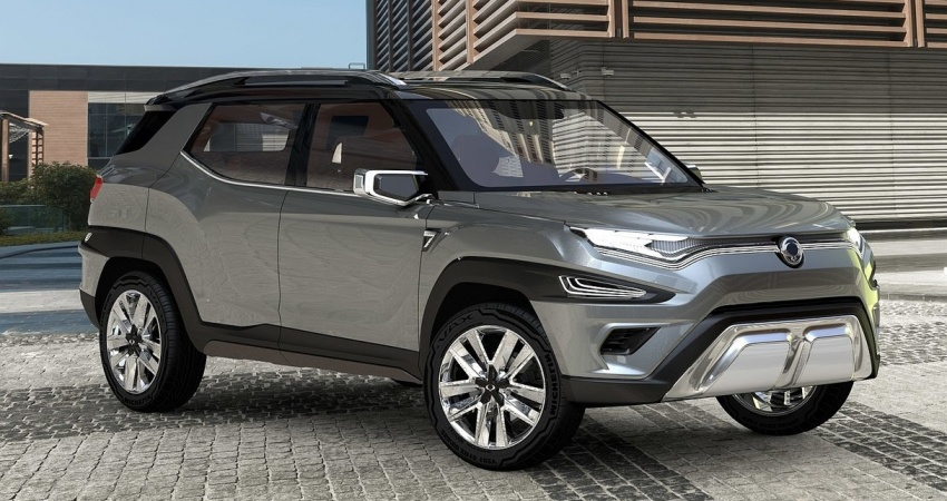 SsangYong XAVL Concept – off-road capable 7-seater Image #629074