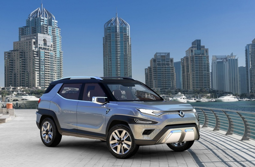 SsangYong XAVL Concept – off-road capable 7-seater Image #629075