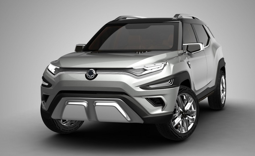 SsangYong XAVL Concept – off-road capable 7-seater Image #629076