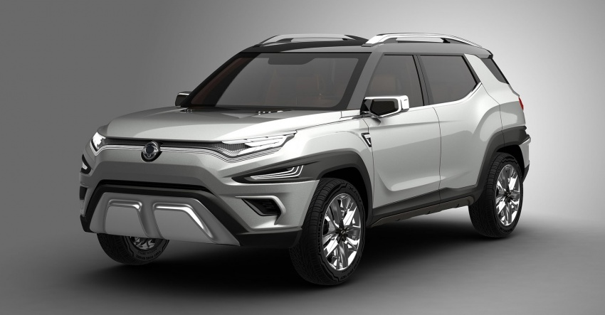 SsangYong XAVL Concept – off-road capable 7-seater Image #629077