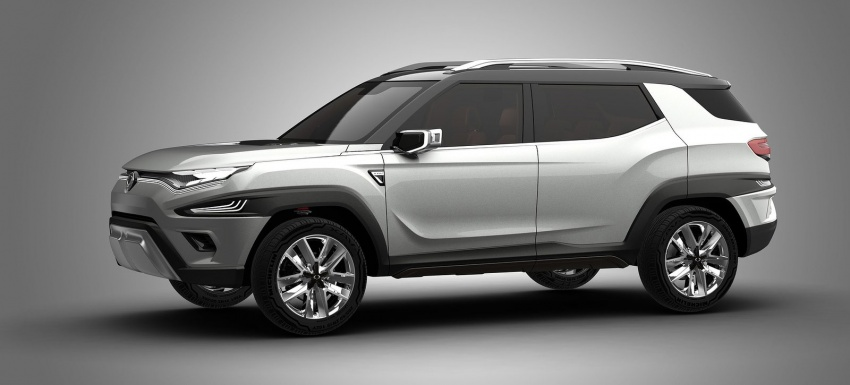 SsangYong XAVL Concept – off-road capable 7-seater Image #629078