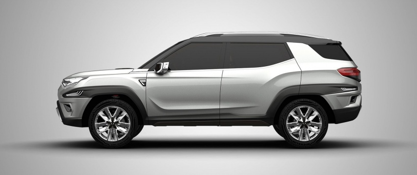 SsangYong XAVL Concept – off-road capable 7-seater Image #629079