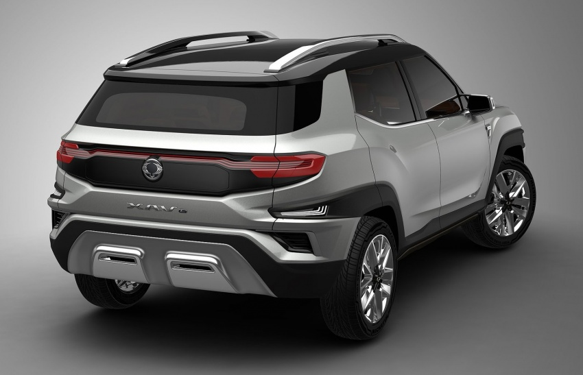 SsangYong XAVL Concept – off-road capable 7-seater Image #629080